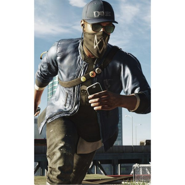 Marcus Holloway Watch Dogs 2 Blue Bomber Jacket