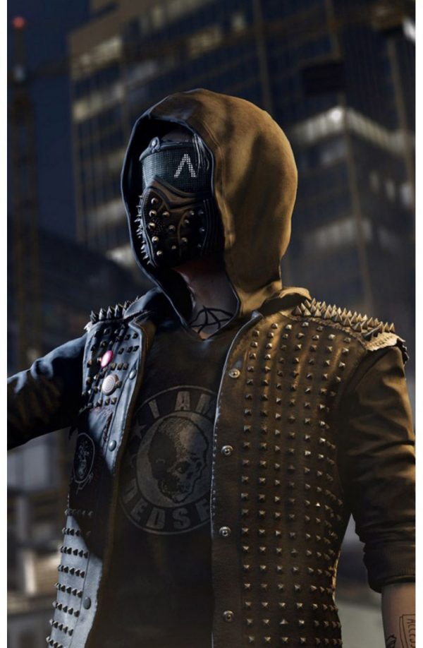 Watch Dogs 2 Leather Vest