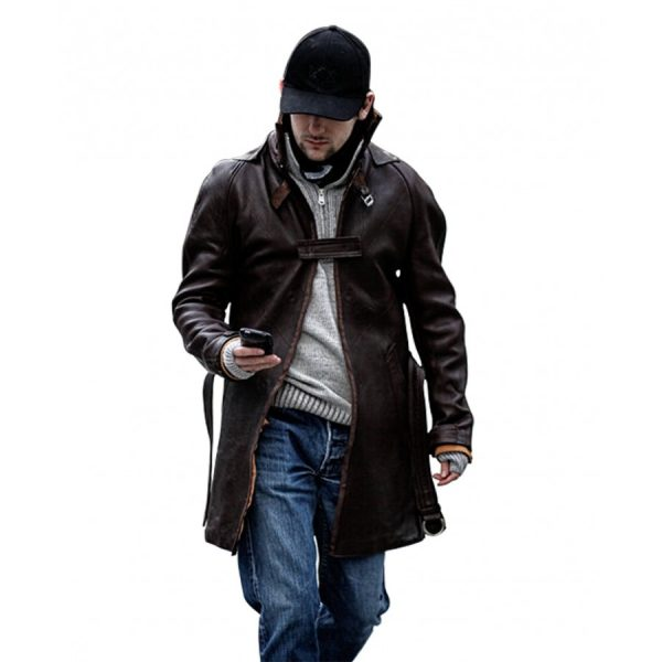 Watch Dogs Aiden Pearce Jacket-0