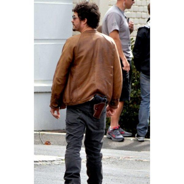 Brian Epkeen Leather Jacket