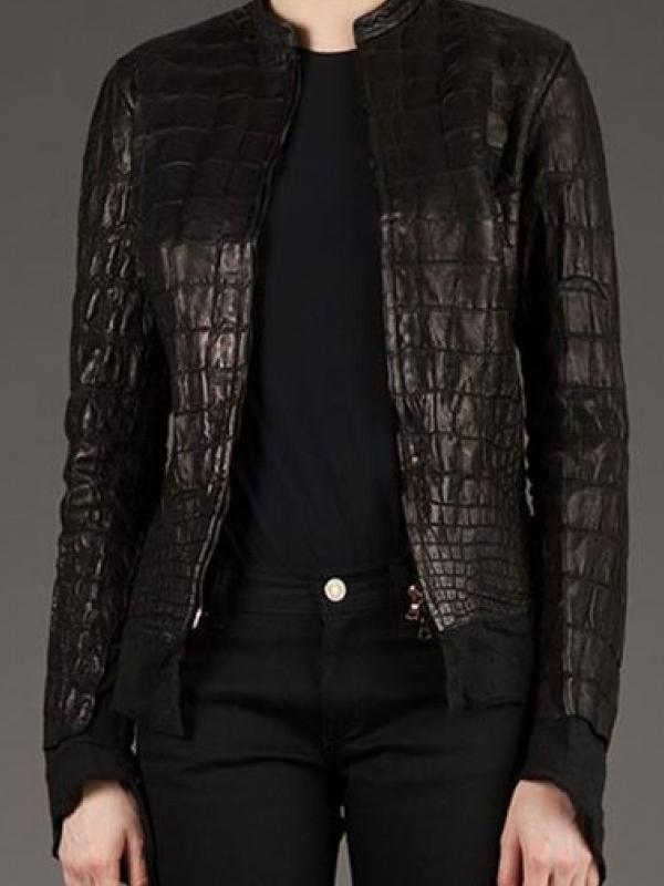 Affamee Alligator Leather Jacket-0
