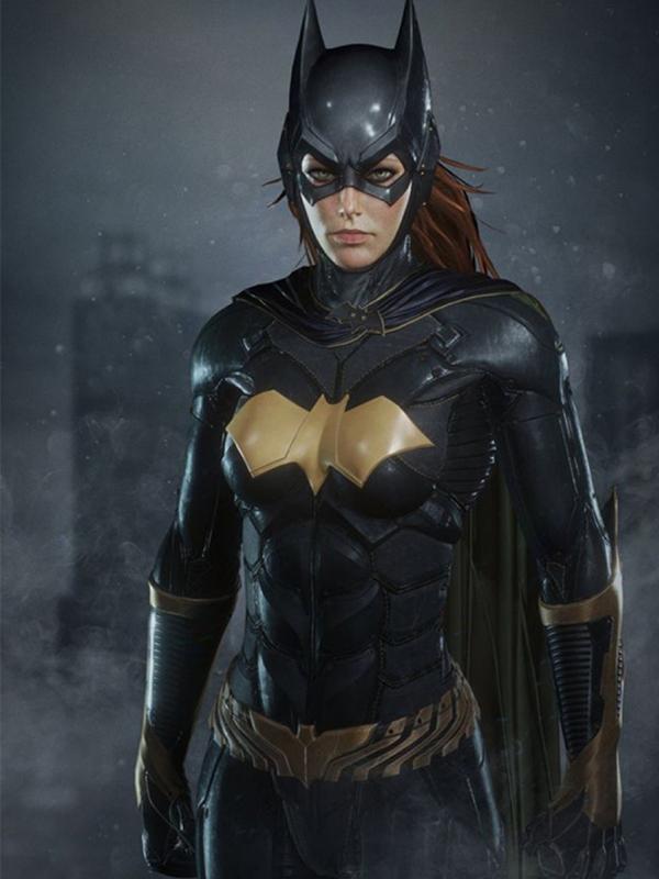 Batman Arkham Knight BatGirl Leather Jacket