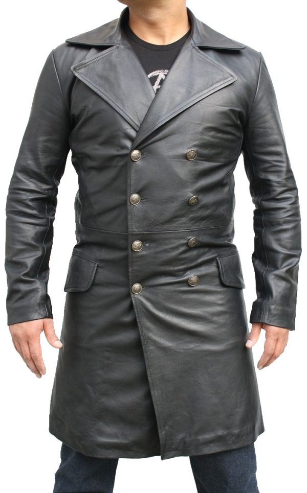 Sweeney Todd Long Johnny Depp Black Coat