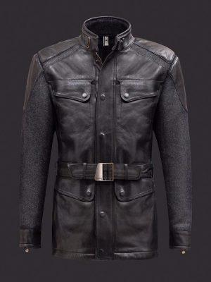 Nick Fury Avengers Age of Ultron Leather Jacket