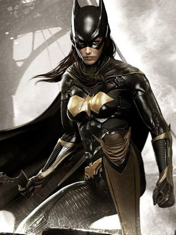 Batgirl Leather Jacket