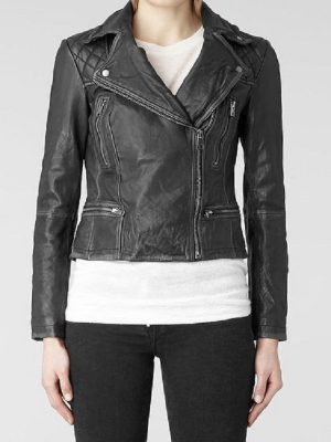 Agents of S.H.I.E.L.D Motorcycle Leather Jacket-0