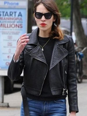 Alexa Chung Leather Jacket