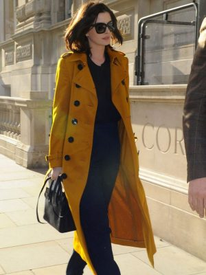 Anne Hathaway Landon Trench Coat