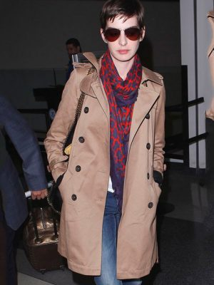 Anne Jacqueline Hathaway Long Coat