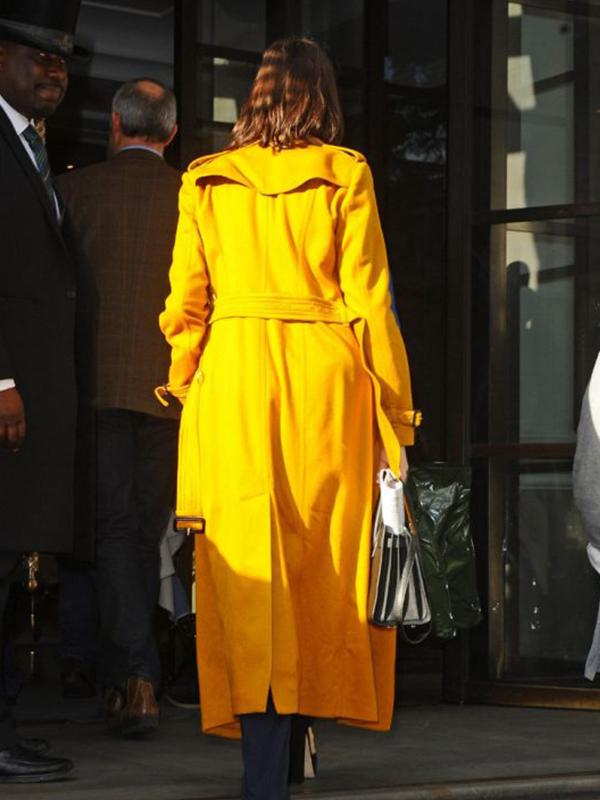 Anne Hathaway Long Coat