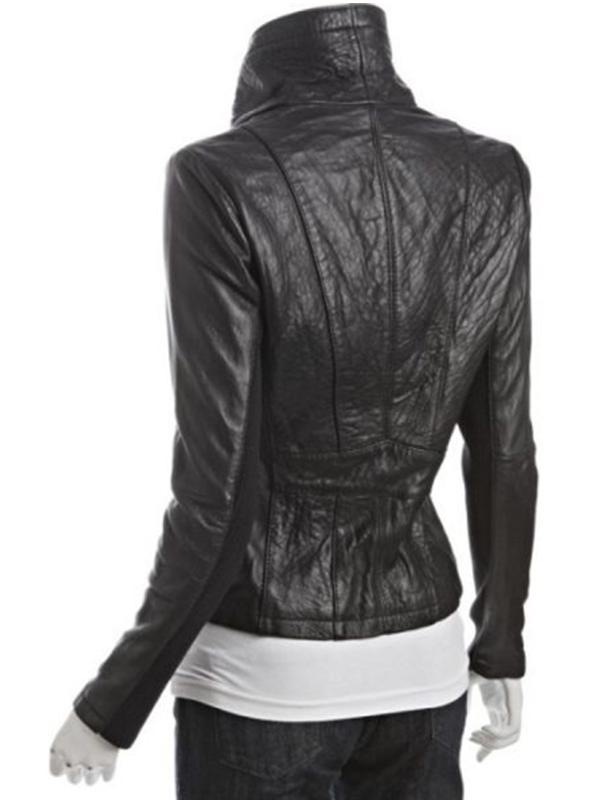 Asymmetrical Black Jacket