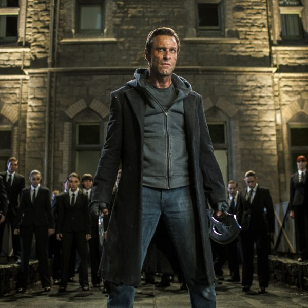 Aaron Eckhart Movie I Frankenstein Coat-0