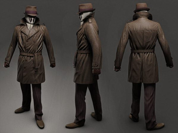 Watchmen Brown Trench Coat