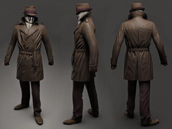 Watchmen Brown Trench Coat