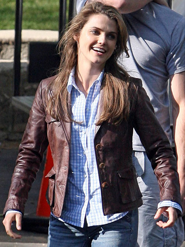 Bedtime Stories Keri Russell Leather Jacket