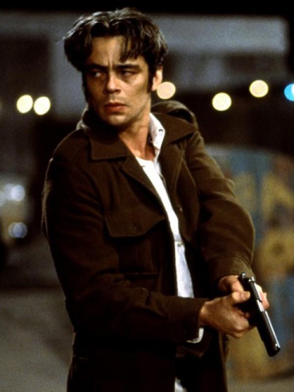 Benicio Del Toro The Way of The Gun Brown Jacket