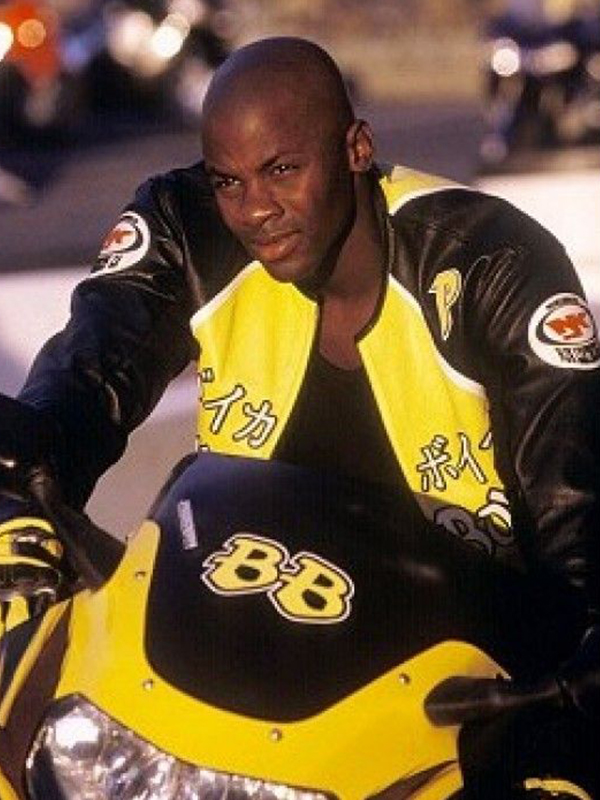 Biker Boyz Yellow Leather Jacket