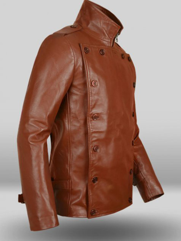 Bill Clifford Brown Leather Jacket