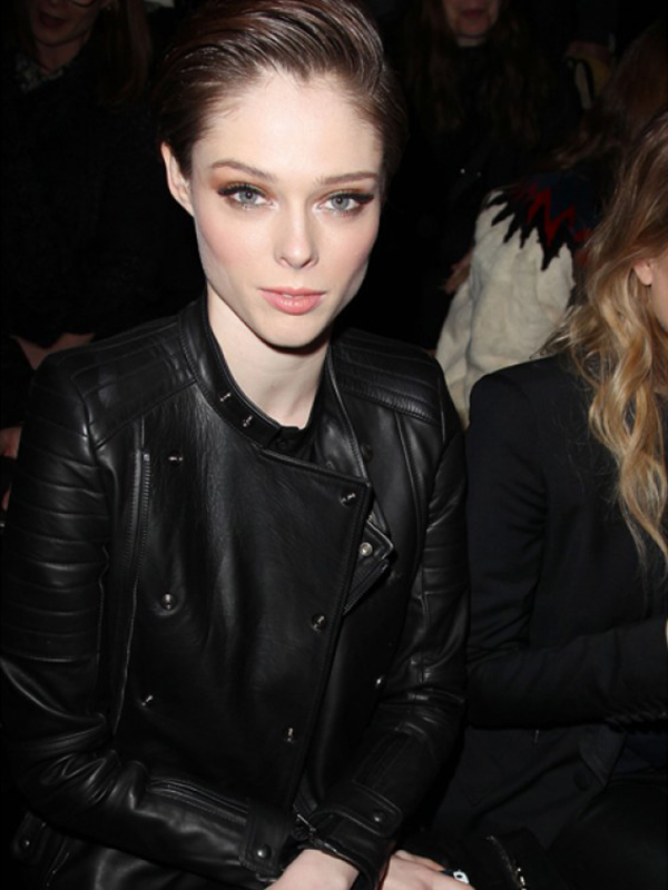 Coco Rocha Black Jacket