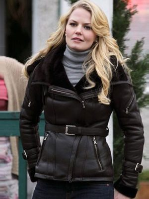 Black Emma Swan Once Upon A Time Leather Jacket