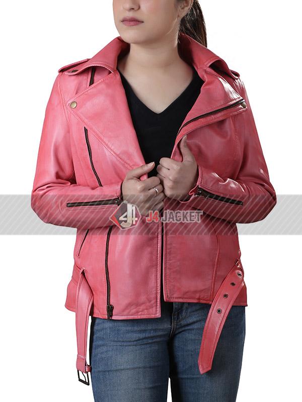 Gwen Stefani Hot Pink Jacket