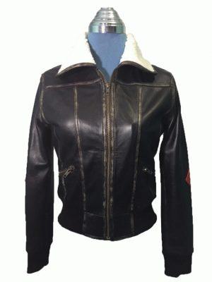 Harley Quinn Aviator Jacket