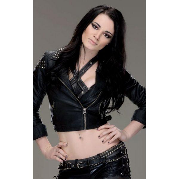 Diva Paige AKA Britani Knight Black Jacket