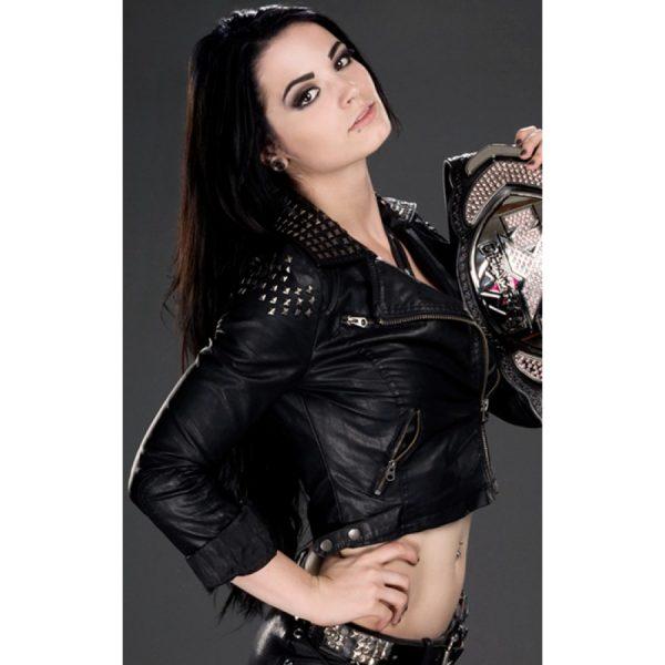 Diva Paige AKA Britani Knight Leather Jacket