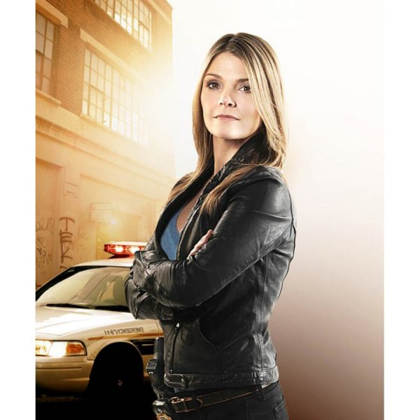 Law and Order Kathryn Erbe Black Jacket