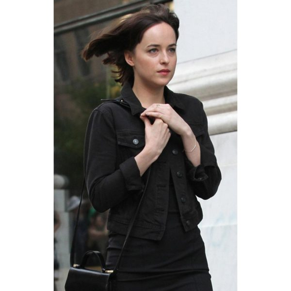 How To Be Single Black Denim Jacket