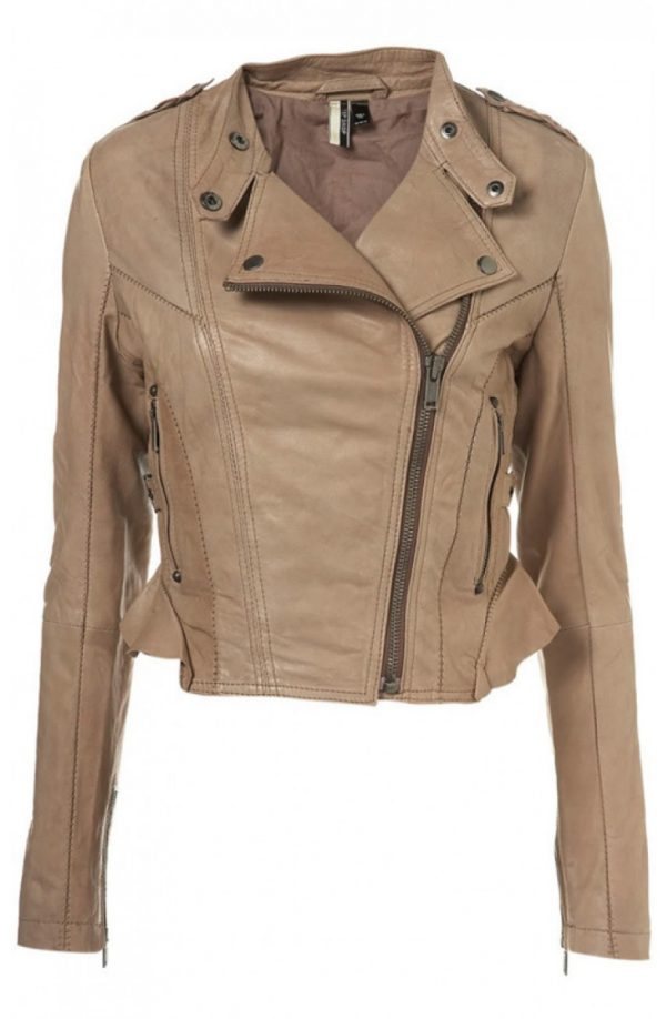 Dr Who Amy Pond Leather Jacket