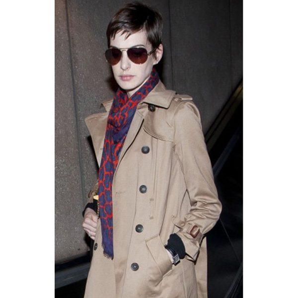 Anne Jacqueline Hathaway Long Coat