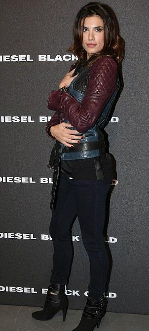 Elisabetta Canalis Leather Jacket