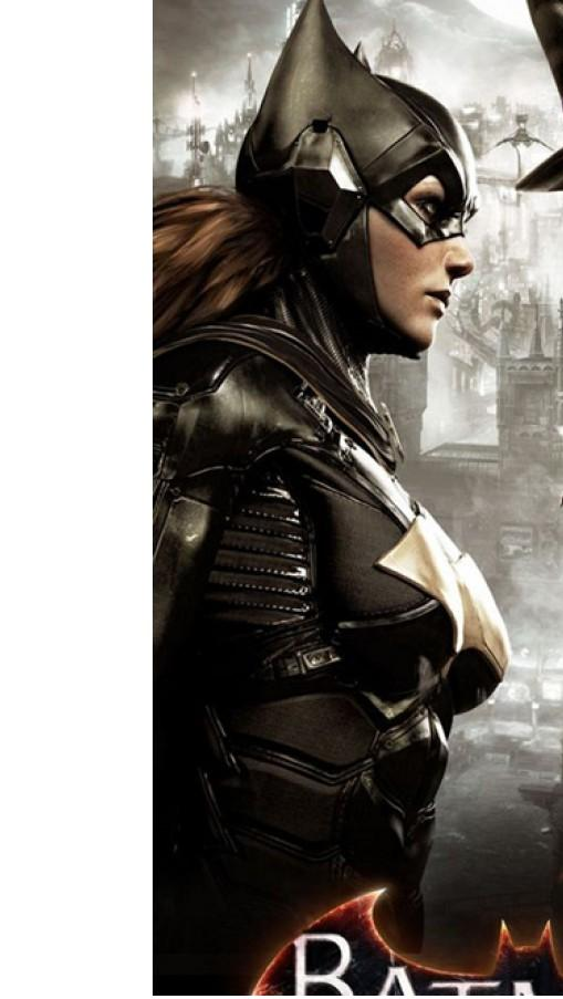 Batgirl Leather Batman Arkham Jacket