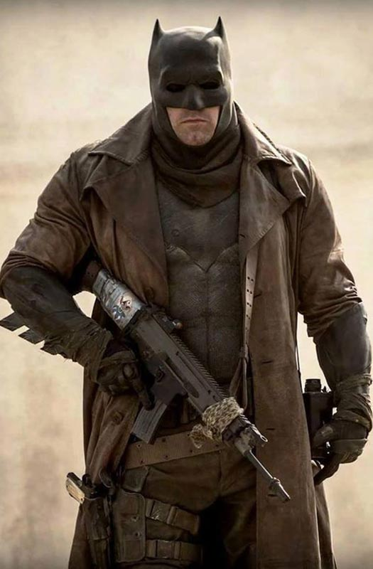 Dawn of Justice Batman Trench Coat-0
