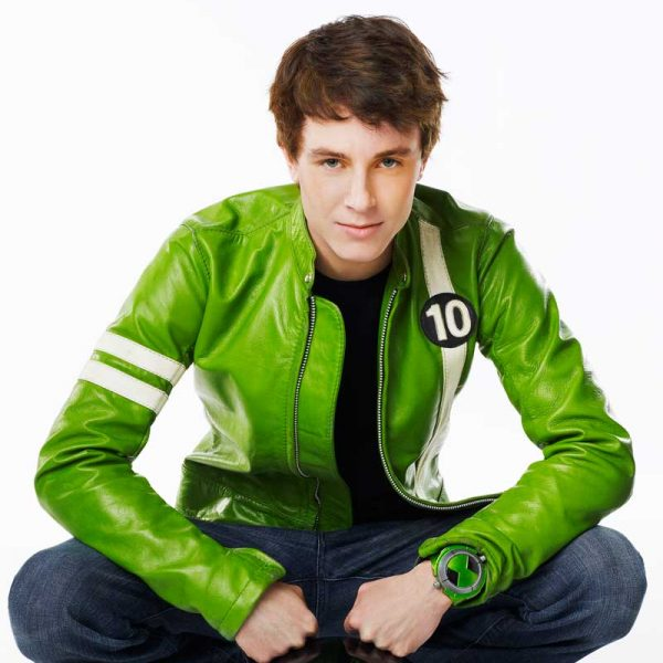 Ben 10 Green Leather Jacket