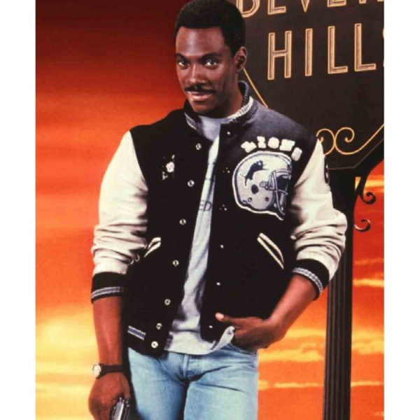 Detroit Lions Jacket Beverly Hills Cop-0