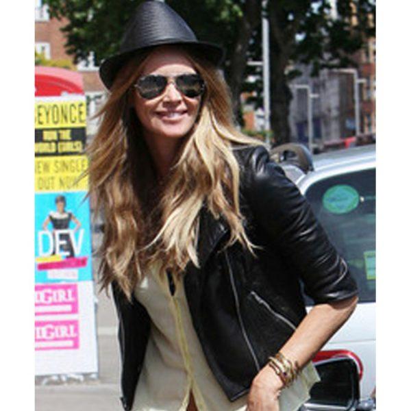 Elle Macpherson Leather Jacket