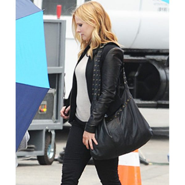 Veronica Mars Leather Sleeves Jacket