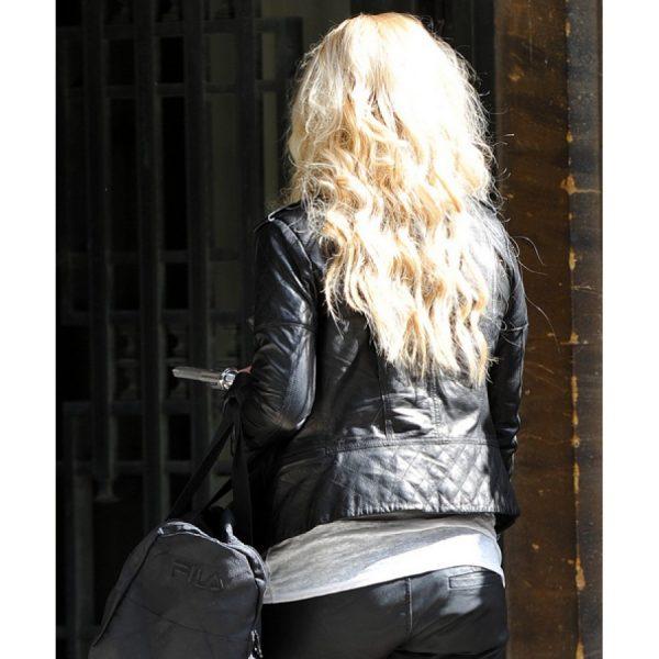 Britney Spears Biker Jacket