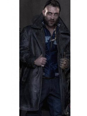 Jai Courtney Suicide Squad Captain Boomerang Coat-0