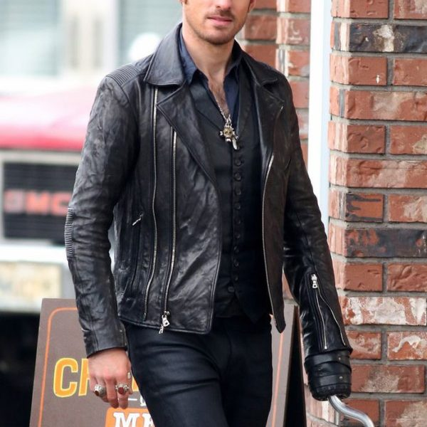 Colin O'Donoghue Once Upon a Time Captain Hook Jacket -0