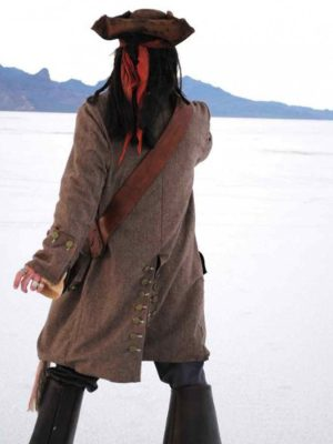 Captain Jack Sparrow Pirates of The Caribbean Coat