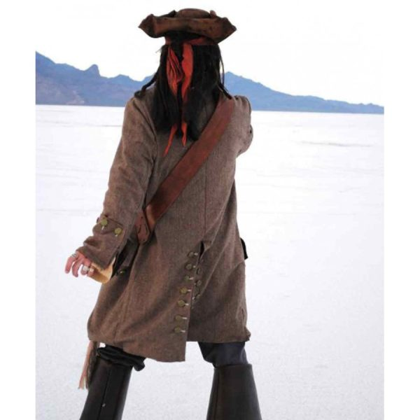 Captain Jack Sparrow Pirates of The Caribbean Coat