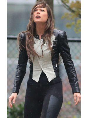 Peyton List The Tomorrow People Leather Jacket