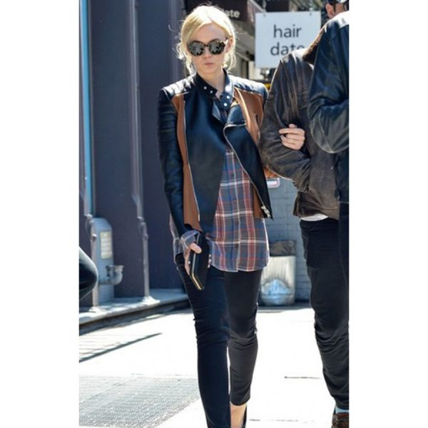 Designer Stylish Carey Mulligan Quilted Leather Jacket