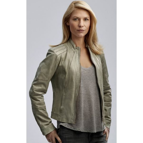 Homeland Carrie Mathison Leather Jacket-0