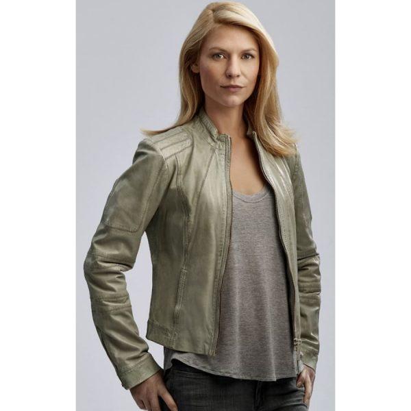 Homeland Carrie Mathison Leather Jacket-0