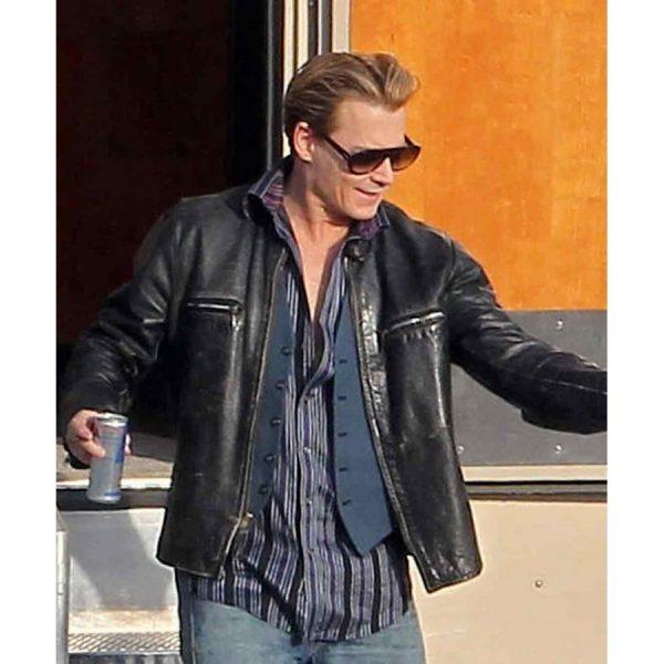 Johnny Depp Charles Mortdecai Leather Jacket