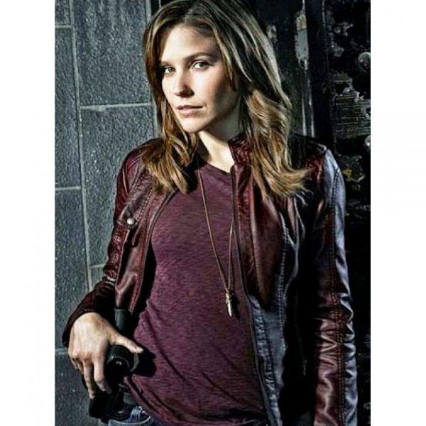 Chicago Pd Sophia Bush Leather Jacket-0